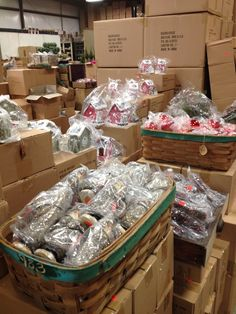 Holiday Warehouse Sale 2013 :: we are busy stacking and unpacking..... — at Ragon House Collections.