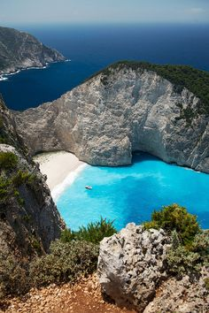 No matter how many times you've seen it, it's always an amazing sight and a magical place to visit... Navagio beach on Zakynthos