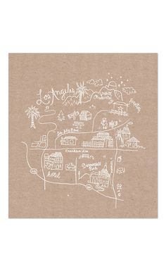 19 trendy Ideas for birthday art illustration hand drawn Map Design, Graphic Design, Travel Design, Los Angeles Map, Mental Map, Map Projects, Print Layout, Travel Maps, Travel Scrapbook