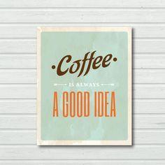 Café !  Yes please !