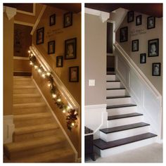 Beautiful staircase transformation