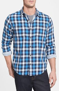 Timberland Double Layer Plaid Shirt | Nordstrom