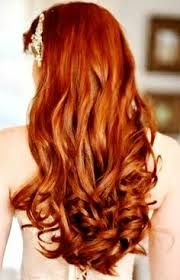 Curly Deep Red Hair Color Back View | Hair | Pinterest ...