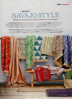 Homes & Gardens Magazine, July 2013. Robert Allen Grassland fabric in Mineral (third from left).