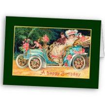 New Car Happy Birthday Cards