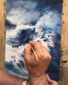 "15.6k Likes, 50 Comments - Watercolor illustrations (@watercolor.illustrations) on Instagram: "" Watercolorist: @paintinghyun #waterblog #акварель #aquarelle #drawing #art #artist #artwork…"""