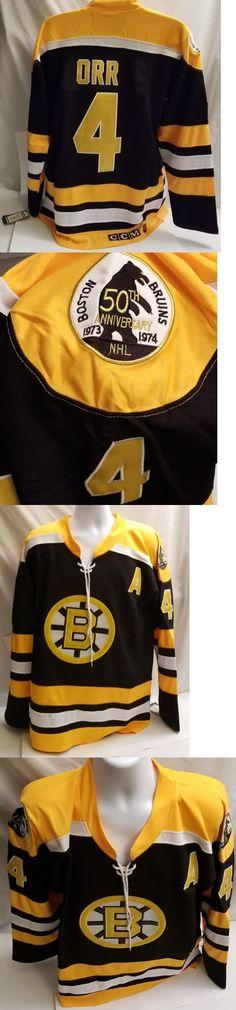 Hockey-NHL 24510  Bobby Orr Throwback Ccm Replica Boston Bruins  4 Size 54  2X Mens Jersey -  BUY IT NOW ONLY   49.89 on eBay! 55e89dd38