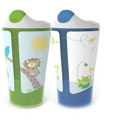 Born Free 10 oz Sippy Cup, BPA-Free, 2-Pack, Beige