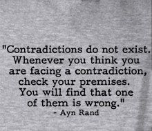 I found many solutions inside this one principle. Thanks Ayn!