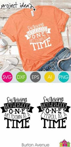 Make a funny t-shirt or mug with your Cricut or Silhouette. Making projects is easy with SVG file. Works with Cricut & Silhouette. Diy Mother's Day Projects, Circuit Projects, Project Ideas, Silhouette Machine, Silhouette Cameo, Free Silhouette, Silhouette Studio Designer Edition, Mother's Day Diy, Svg File