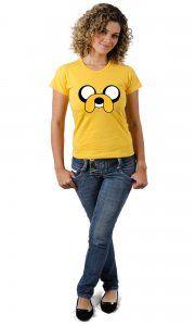 Camiseta Jake Hora de Aventura por apenas R$37,50 no site Camiseta Ilustrada!