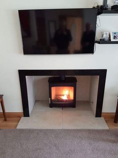 Wonderful Parkray Aspect woodburning stove with large window providing a great view of the fire! Woodburning, Large Windows, Great View, Stove, Fire, Home Decor, Cooking Stove, Homemade Home Decor, Firewood