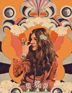 I thought it was about time for a Janis Joplin collage. As a teen, this woman helped me recognize how confidence + passion supersedes… Janis Joplin, Hippie Vibes, Hippie Art, Hippie Style, Arte Hippy, Rock And Roll, 70s Aesthetic, Psy Art, Happy Hippie