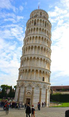 Krzywa Wieża w Pizie #Italy http://wlochy.praktycznyprzewodnik.eu/regiony-wloch/toskania/piza/