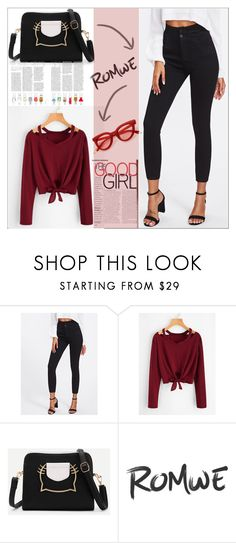 """""""Romwe5"""" by adelisa56 ❤ liked on Polyvore"""