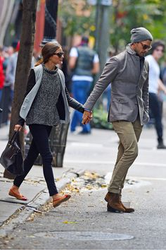 Olivia Palermo Johannes Huebl Photos: Olivia Palermo and boyfriend Johannes Huebl are seen out in the West Village in New York City