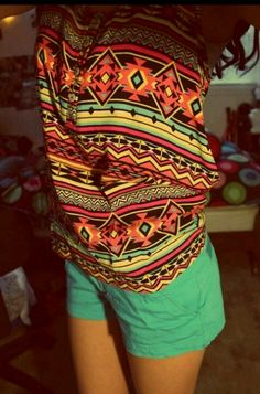 Aztec- good summer outfit!