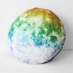 Fab.com   i3 Lab: Nocturn Moon Hug Pillow Rainbow, at 14% off!