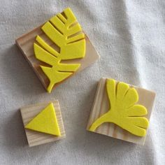 Homemade: Rubber foam stamp - DIY Crafts for Kids Diy Crafts To Do, Crafts For Kids, Arts And Crafts, Fabric Crafts, Paper Crafts, Foam Stamps, Stamp Carving, Handmade Stamps, Fabric Stamping