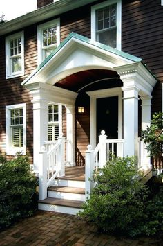 Diy Front Door Portico Ideas Inspirations A Large Porch Usually With Pediment Roof Supported By Classical Columns Or Pillars Entry Doors 618x930 Winsome For Great Looks