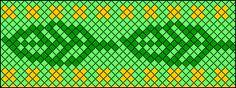 #77107 - friendship-bracelets.ne.   Leaf pattern