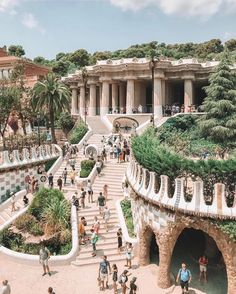 Park Guëll – Barcelona 💛 Courtesy of Laura Jean.smith Admins: Park Guëll – Barcelona 💛 Courtesy of Laura Jean.smith Admins: 📍Barcelona, Spain 🇪🇸 Tag your best travel photos with… Put a lil money into travelin Oh The Places You'll Go, Places To Travel, Barcelona Travel, Destination Voyage, Europe Destinations, Honeymoon Destinations, Travel Aesthetic, Adventure Is Out There, Dream Vacations