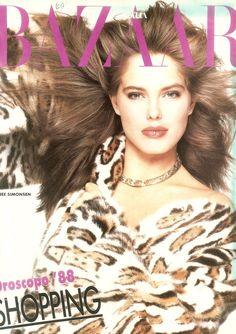Renée Simonsen  -  Harper's Bazaar Italia December 1987