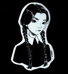 Wednesday Addams by Sara Tepes