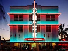 Discover a variety of Art Deco Miami to the specific look you want. Art Deco Miami Building can be fun and playful, or chic and classy. Miami Art Deco, Art Deco Hotel, Miami Beach, South Beach, Hotel New York, Art Nouveau, Art Disney, Fairmont Hotel, Downtown Miami