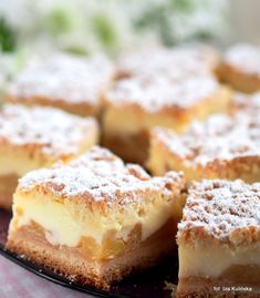 nagrzanego do 200 st. Polish Recipes, Polish Food, Apple Cake, French Toast, Cheesecake, Muffin, Cooking Recipes, Yummy Food, Sweets
