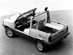 Fiat Panda 4x4 Offroader/Strip (ItalDesign), 1980
