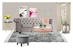 """""""decoration"""" by evelina-hagstrom on Polyvore featuring interior, interiors, interior design, home, home decor, interior decorating, Inspire Q, Oliver Gal Artist Co., Safavieh and Frontgate"""