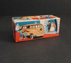 Vintage TEKNO Empty BOX ONLY Volkswagon VW SHELL VAN Denmark Die-Cast