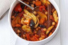 Вегетарианский суп из печеных овощей
