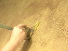 How to Mix, Apply & Paint A Tuscan Plaster Wall Treatment using Joint Compound. wall treatment, new houses, tuscan painting, plaster wall