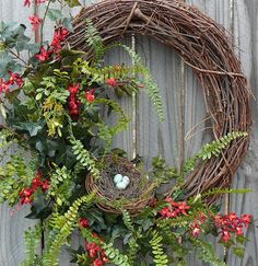 Lovely wreath made by the lovely Melissa!