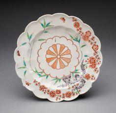 Chelsea Porcelain Manufactory -  English, c. 1745-1784 Plate, c. 1754