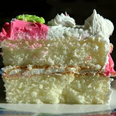 Make this fluffy white cake recipe for someone you love.