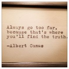 Albert Camus Quote Made On Typewriter by farmnflea on Etsy, $12.00
