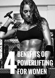 All women should power lift. #fitness #workout #health