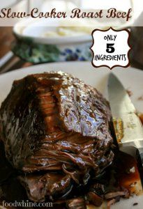 If you are on the hunt for an easy roast beef recipe that your whole family is sure to love, then this 5-Ingredient Fall-Apart Roast Beef is a must-make. With just five simple ingredients, you will have a roast beef for dinner that is tender and juicy.