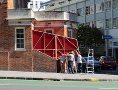 "Intervenção urbana: ""Stairway Cinema"""
