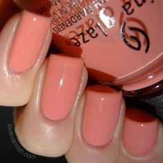 China Glaze Road Trip Spring 2015 - Pinking Out the Window