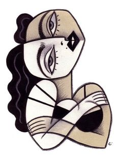 Madonna by David Cowles Small Canvas Art, Diy Canvas Art, Madonna Art, Madonna Tattoo, Cubist Art, Abstract Face Art, Picasso Art, Art Graphique, Weird Art