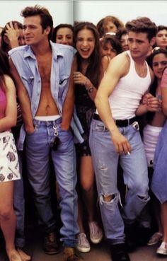 90's Flashback Brandon Walsh, 90210 Fashion, Jason Priestley, Jennie Garth, The Originals Tv, Luke Perry, Beverly Hills 90210, Valley Girls, Indie Movies