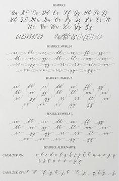 Calligraphy Fonts Alphabet, Handwriting Alphabet, Hand Lettering Alphabet, Caligraphy, Graffiti Alphabet, Alphabet Art, Penmanship, Pretty Handwriting, Handwriting Styles