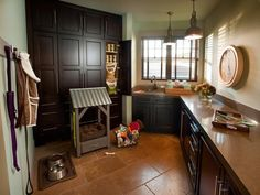 A mudroom that is its own room. And has natural light.