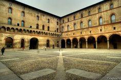 Castello Sforzesco Di Milano, seconda corte interna o corte della Rocchetta