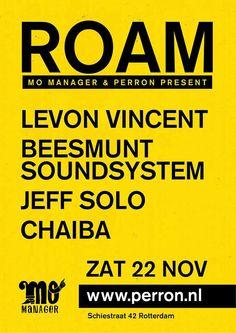 22 NOV   ROAM   Perron Rotterdam