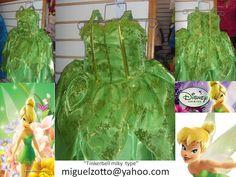 Tinkerbell+costume+Campanita++fairy+dress+by+miguelzottoyahoocom,+$85.00